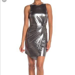 Gorgeous silver twist dress